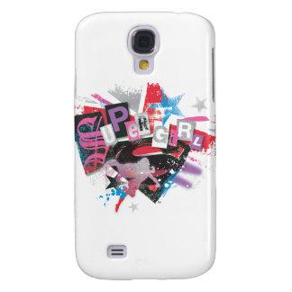 Supergirl Grunge Design Galaxy S4 Case