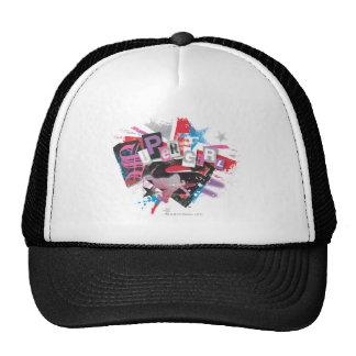 Supergirl Grunge Design Trucker Hat