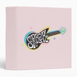 Supergirl Guitar Vinyl Binders