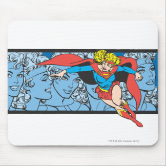Supergirl Head Shots Mouse Pad