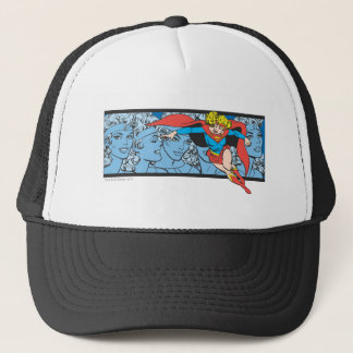 Supergirl Head Shots Trucker Hat