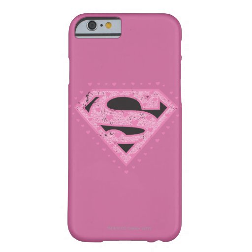 Supergirl Hearts Barely There iPhone 6 Case