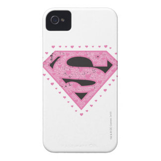 Supergirl Hearts iPhone 4 Cover