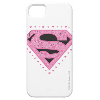 Supergirl Hearts iPhone SE/5/5s Case