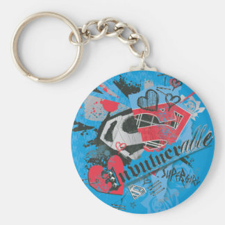 Supergirl Invulnerable Key Chain