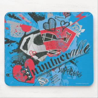 Supergirl Invulnerable Mouse Pad