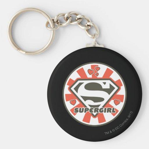 Supergirl J-Pop 7 Keychains