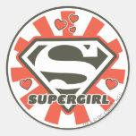 Supergirl J-Pop 7 Stickers