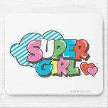 Supergirl J-Pop 9 Mouse Pad