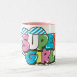 Supergirl J-Pop 9 Two-Tone Coffee Mug