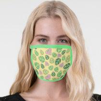 Supergirl Leaf Pattern Face Mask