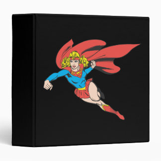 Supergirl Leaps and Punches Binder