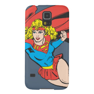 Supergirl Leaps and Punches Case For Galaxy S5