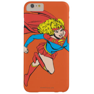 Supergirl Leaps Right Barely There iPhone 6 Plus Case