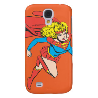 Supergirl Leaps Right Samsung Galaxy S4 Cover