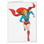 Supergirl listo para ir tarjetas
