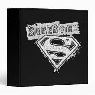 Supergirl Logo 1 Binders