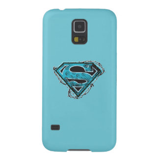 Supergirl Logo Barbed Wire and Flowers Case For Galaxy S5