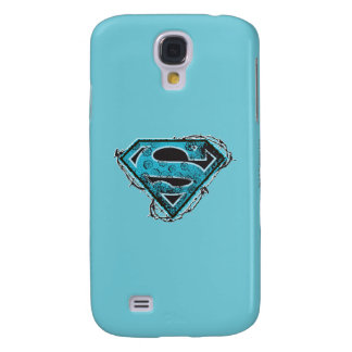 Supergirl Logo Barbed Wire and Flowers Galaxy S4 Case