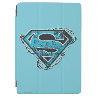 Supergirl Logo Barbed Wire and Flowers iPad Air Cover