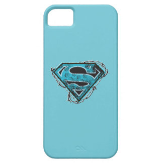 Supergirl Logo Barbed Wire and Flowers iPhone SE/5/5s Case