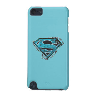 Supergirl Logo Barbed Wire and Flowers iPod Touch (5th Generation) Case