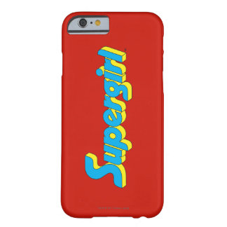 Supergirl Logo Barely There iPhone 6 Case