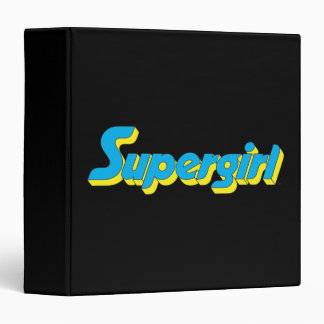 Supergirl Logo Binder