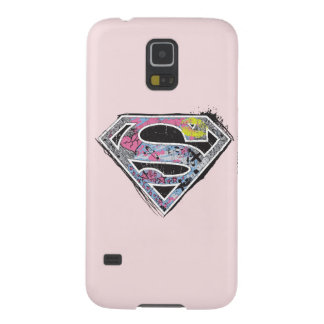 Supergirl Logo Collage Galaxy S5 Covers