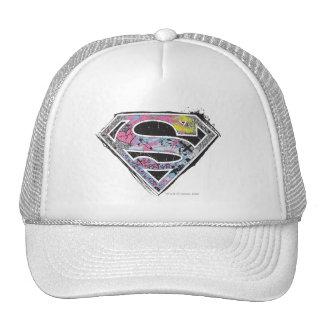 Supergirl Logo Collage Mesh Hats