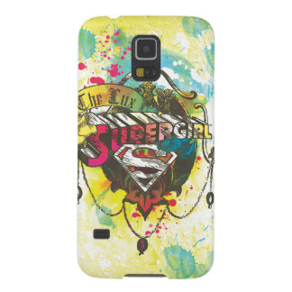 Supergirl Logo The Lux Case For Galaxy S5