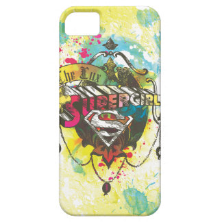 Supergirl Logo The Lux iPhone SE/5/5s Case