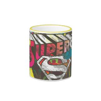 Supergirl Logo The Lux Ringer Coffee Mug