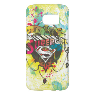 Supergirl Logo The Lux Samsung Galaxy S7 Case
