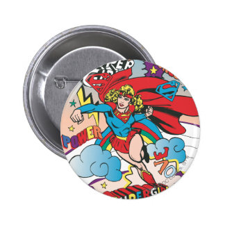 Supergirl Love Conquers Button