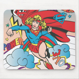 Supergirl Love Conquers Mouse Pad