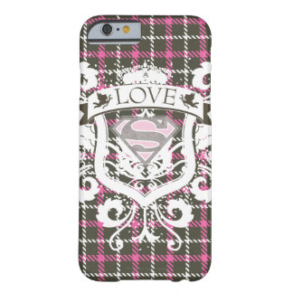 Supergirl Love Crest Barely There iPhone 6 Case