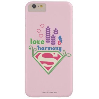 Supergirl Love & Harmony Barely There iPhone 6 Plus Case
