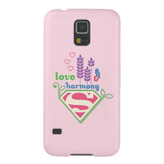 Supergirl Love & Harmony Case For Galaxy S5
