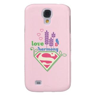 Supergirl Love & Harmony Samsung S4 Case