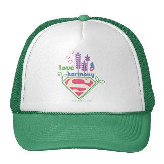 Supergirl Love & Harmony Trucker Hat