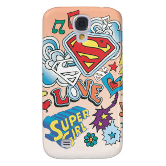Supergirl Love Samsung Galaxy S4 Cover