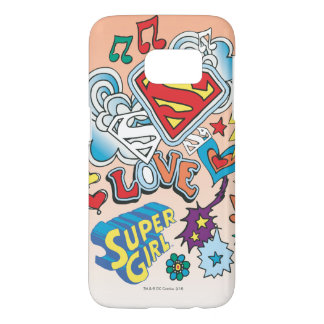 Supergirl Love Samsung Galaxy S7 Case