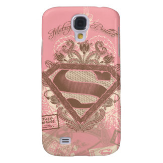 Supergirl Metropolis Ballet Pink Galaxy S4 Cover