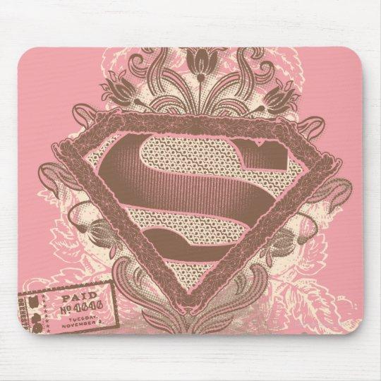 Supergirl Metropolis Ballet Pink Mouse Pad