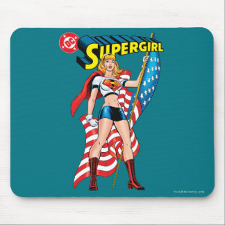 Supergirl Mouse Pad