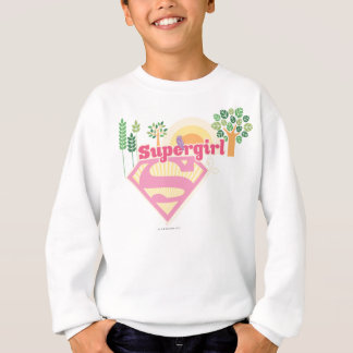 Supergirl Nature Logo Sweatshirt