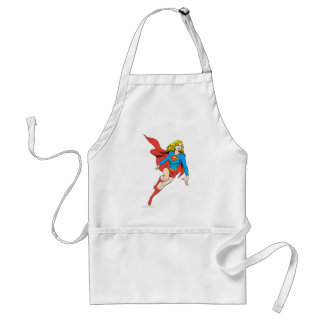 Supergirl on the Move Adult Apron
