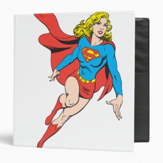 Supergirl on the Move Vinyl Binders