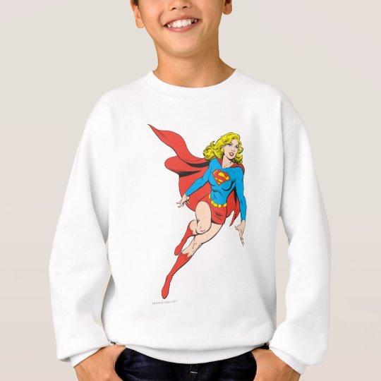 Supergirl on the Move Sweatshirt